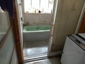 浴室作業前2