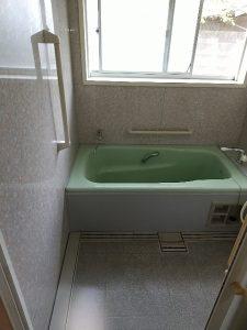 浴槽クリーニング後